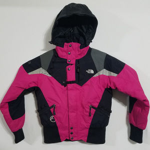 North Face Womens Small Pink Winter Jacket Coat